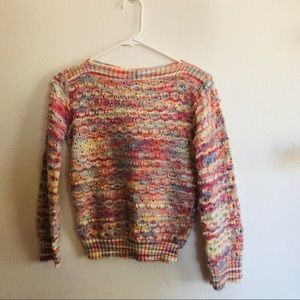 Vintage cozy pullover knit sweater small